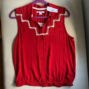 LA Hearts - PacSun - Red Sleeveless Top NWT